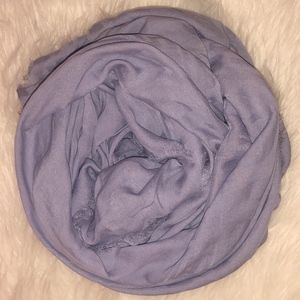 VERSACE Scarf Shawl Gorgeous New Lilac Authentic